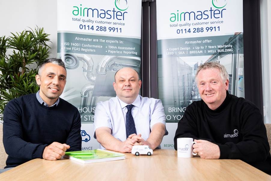 First image for, Contractor of Year Airmaster announces three new staff appointments, news article