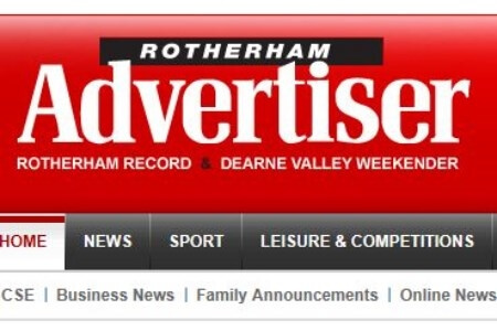 First image for, Airmaster showcased in Rotherham Advertiser, news article